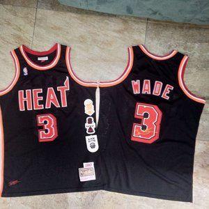 Miami Heat Dwyane Wade Black Jersey
